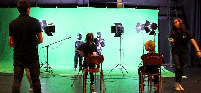 Talleres de cine para enseñar a los niños a hacer películas