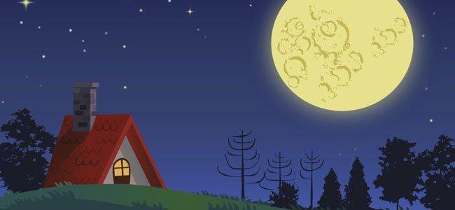 Au clair de la lune, nana en francés