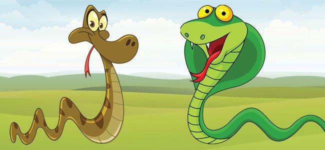 La serpiente y la cobra Poesas para nios