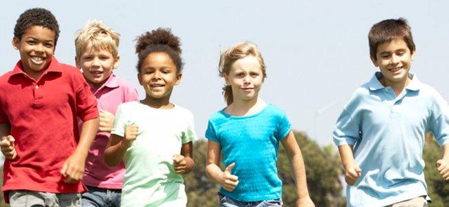 Niños en colonias urbanas