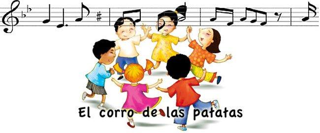 Letra de la canción infantil Al corro de la patata