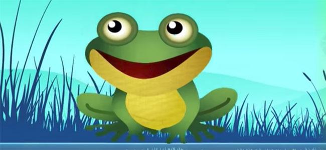 Canción de Cucu, cantaba la rana para niños