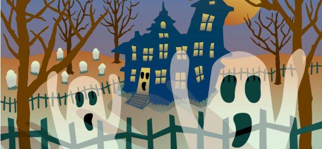 The ghostly village. Cuentos en inglés.