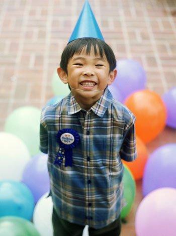 Un cumpleaños muy feliz para los niños