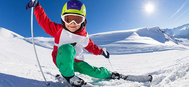 Deportes de nieve para niños