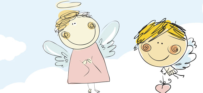 Cuentos de ángeles para niños, cuentos sobre angelitos