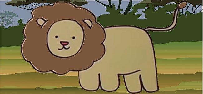 Cómo hacer un dibujo de un león paso a paso