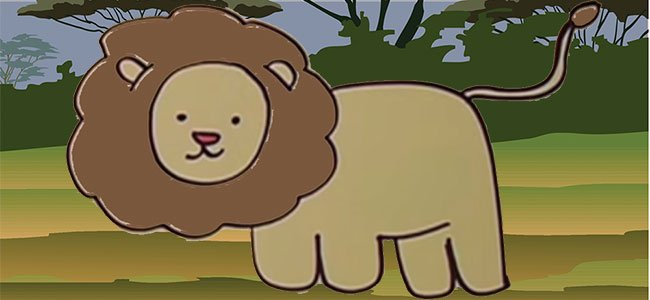 Cómo dibujar un león, paso a paso.