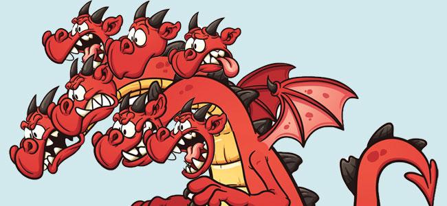 El dragón de las 7 cabezas