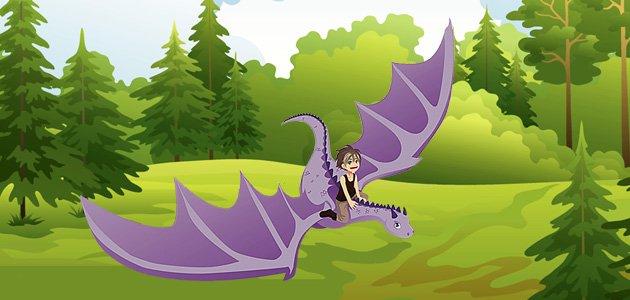 Las lágrimas del dragón. Cuento infantil