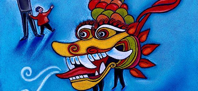 Dragón Nian, cuento corto chino