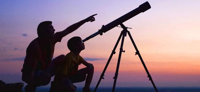 Aprender a mirar las estrellas con niños