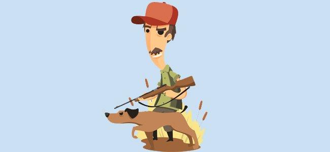 Un cazador y un perro Fbula infantil de Fedro