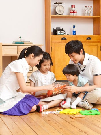 Actividades familiares en casa