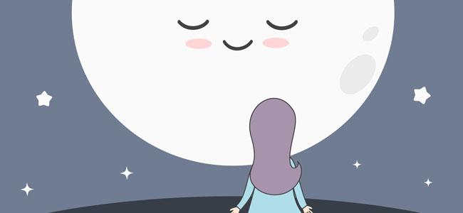 Cuento para niños sobre la luna y la felicidad
