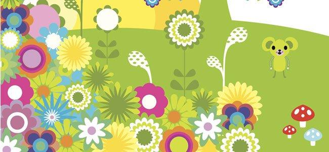 Poema Las flores de mi jardín