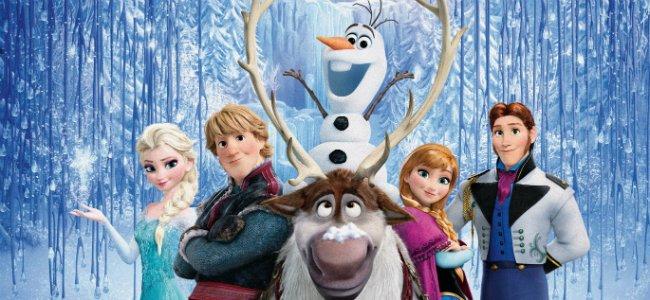 Letra de banda sonora de Frozen.