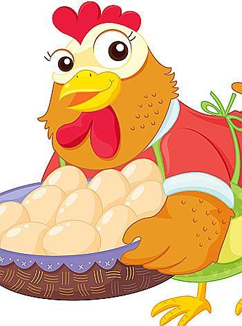 La gallina roja