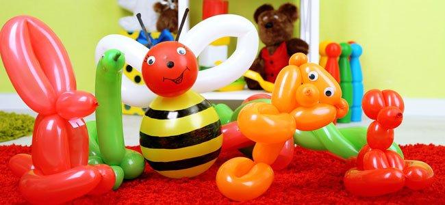 Vídeos de cómo hacer figuras con globos