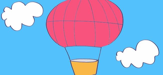 Dibujo de un globo.
