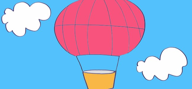 Cmo hacer paso a paso un dibujo de un globo