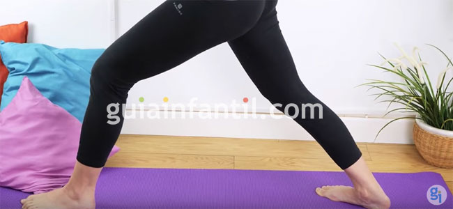 Guerrero de yoga