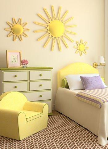 C mo decorar la habitaci n de un ni o o ni a for Como puedo decorar mi habitacion