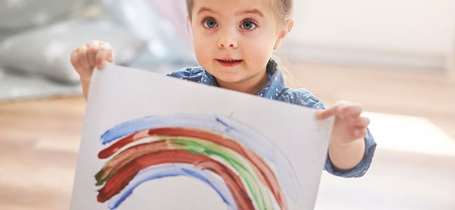 Interpretar los dibujos infantiles