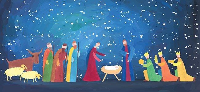 Poema navideño Jesús el dulce
