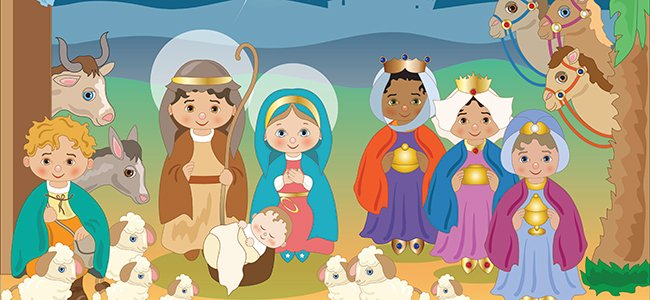 Poema corto navideño para niños