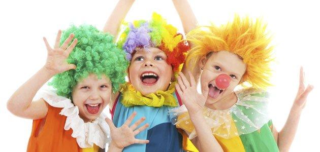 Juegos para niños en Carnaval