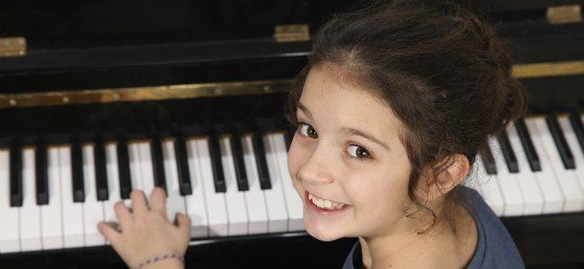 La música y los niños.