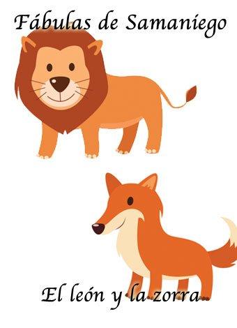 Fábula del león y la zorra