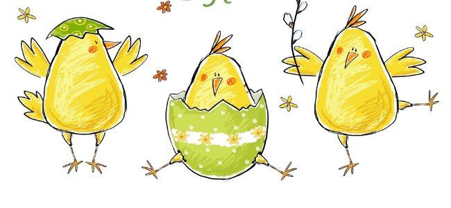 Cancion infantil en inglés: Little chicks are squeaking