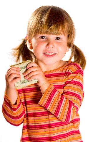 La lotería de Navidad y los niños