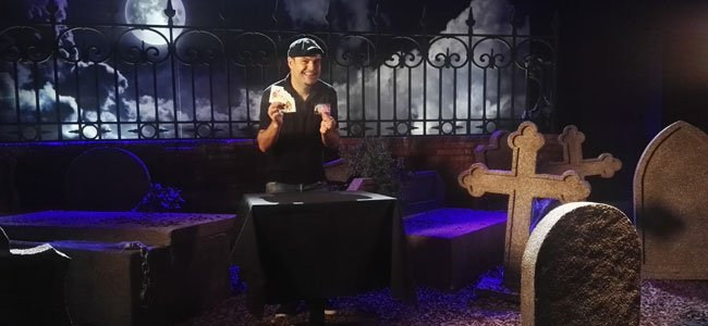 Truco de magia para Halloween