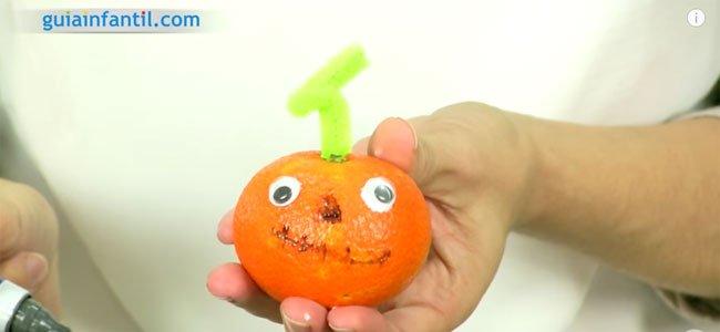 Calabaza mandarina