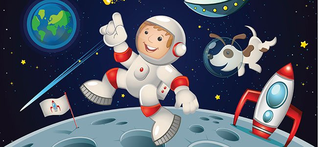 Cuento en inglés: Man on the moon.