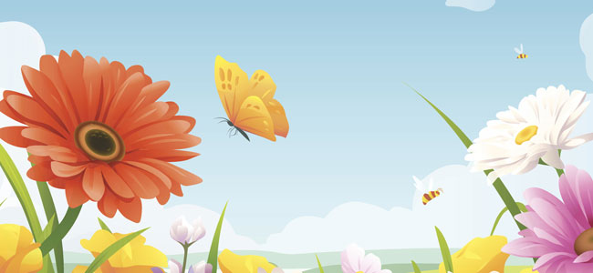 Poema con rima para niños sobre una mariposa