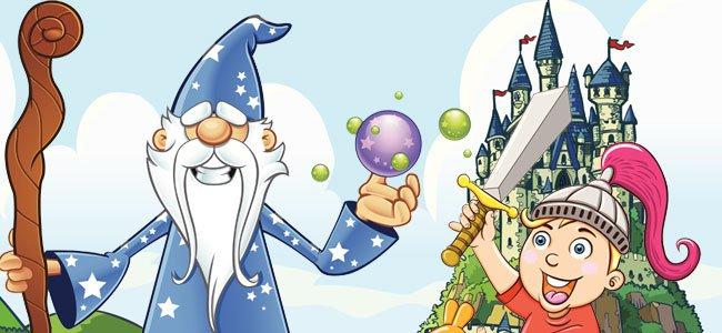 Arturo y el mago Merln Cuentos cortos