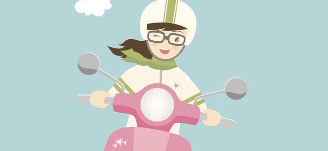 Poema infantil: Mi hermana tiene una moto
