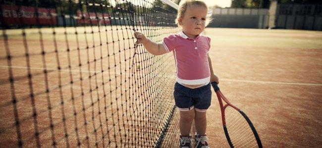 Mini-tenis para niños