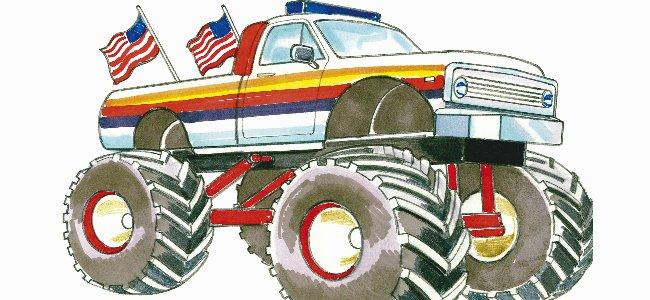 Canciones en inglés: Monster trucks.