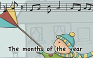 Canción the months of the year.