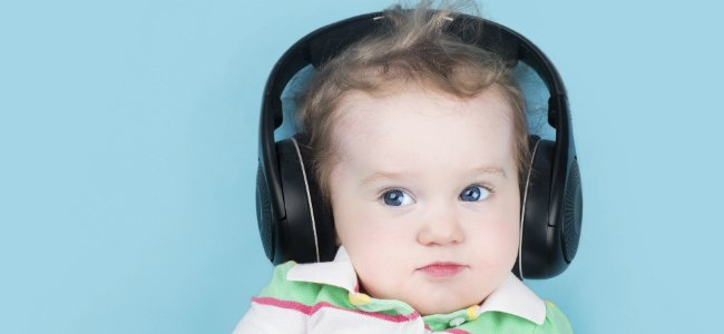 Beneficios de la música para los bebés.