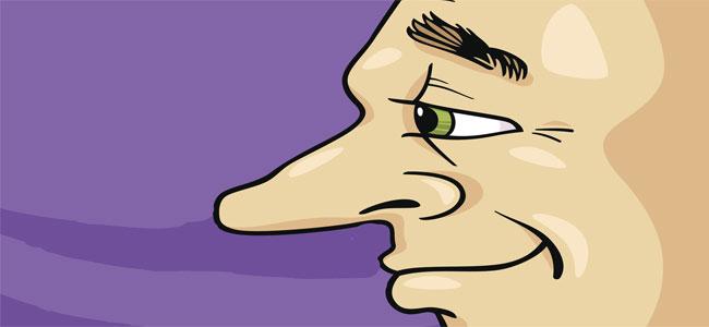 A un hombre de gran nariz. Poema para niños
