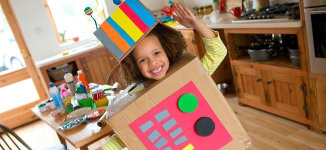 Actividades con cajas de cartón