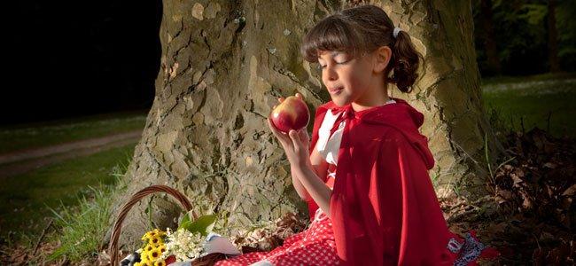 Caperucita come manzana