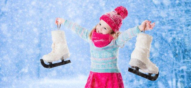 Niña con patines