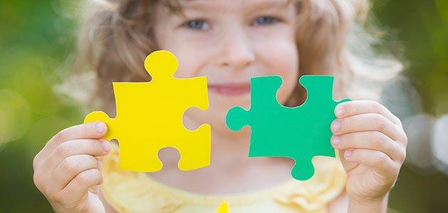 El juego del puzzle en los niños